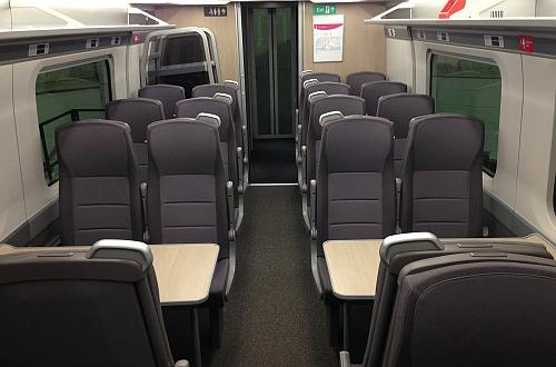 Hitachi reveals SET interiors - International Railway Journal