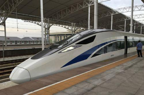 China S Standard High Sd Emu Enters Service