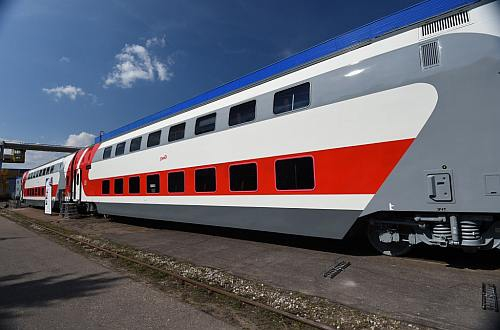 RZD orders more double-deck coaches from TVZ ...
