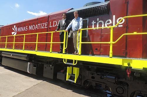 New Trains Ready For Mozambique S Sena Line