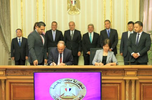 Egypt and China sign Cairo interurban light rail contract
