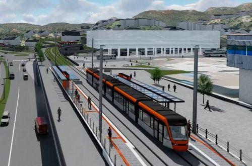 Bergen approves second light rail line