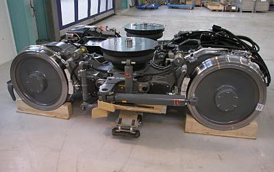 Siemens Presents New Lightweight Bogie International