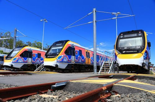 Queensland S Ngr Fleet Enters Penger Service