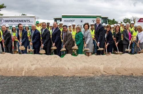 Boston breaks ground on Green Line extension - International Railway Journal