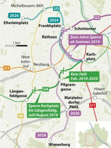 Vienna Starts Work On U Bahn Expansion Project International