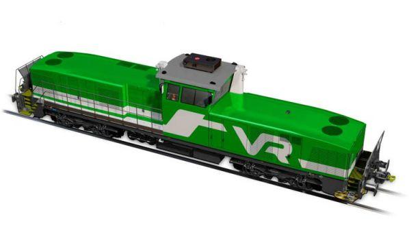VR Orders 60 Diesel Locomotives From Stadler