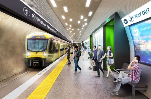 Cost of Auckland City Rail Link increases by $NZ 1bn