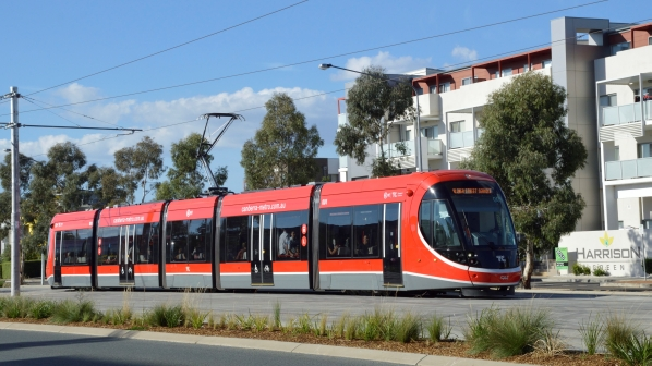 Canberra Metro light rail services up and running   International ...