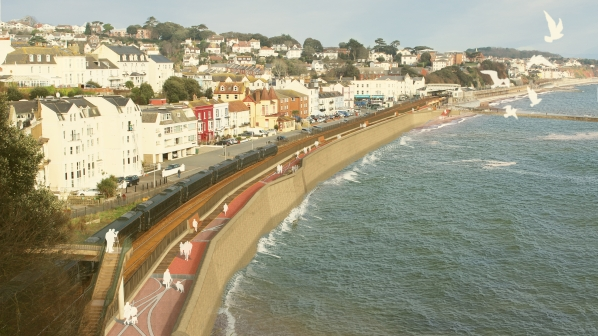 Dawlish sea wall upgrade approved