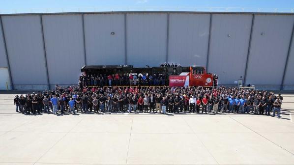 Wabtec rolls out 1000th Evolution Series Tier 4 locomotive
