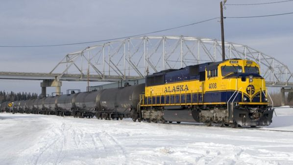 Alaska Railroad backs plan for link to North American rail network