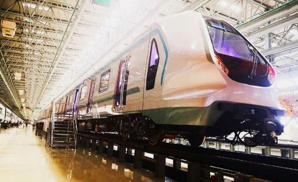 CRRC unveils driverless metro train | International Railway Journal