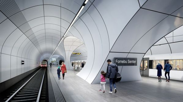 Financing agreed for Oslo metro Fornebu Line