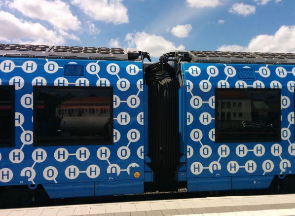 Hydrogen fuel cell train on test in Bavaria | International