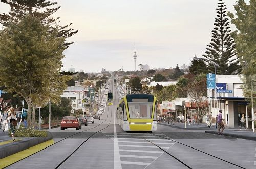 Two delivery partners shortlisted for Auckland light rail