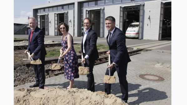 DB breaks ground on Berlin ICE depot expansion