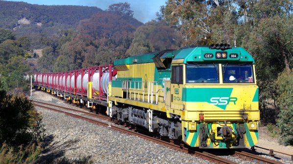 Australian mines turn to rail to top up drought-ridden dams