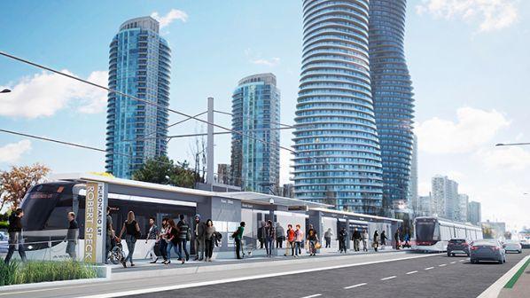Ontario selects preferred bidder for Hurontario LRT