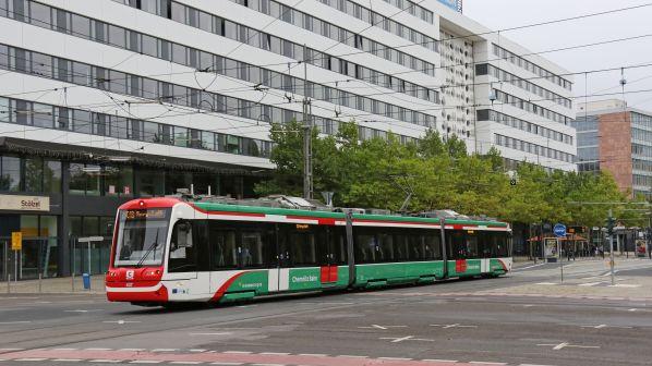 Image result for chemnitz tram train