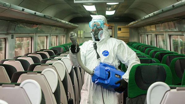 """IRJ IN-BRIEF – Covid-19: Passengers value cleaning; British operators  trial 'virucidal' sanitisers; Argentine Trains launches """"Reserve your train""""  app 
