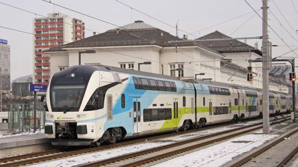 Westbahn 4010 EMU Salzbourg 030212 Keith Fender