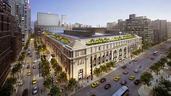 New York completes Moynihan Train Hall serving Penn station