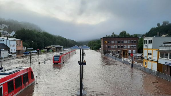 16.07.2021 - German and Belgian networks disrupted by devastating floods - Int. Railway Journal